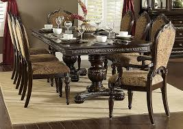 Cherry Dining Room Furniture Aco Furniture Russian Hill Warm Cherry Dining Room Table