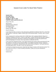 Chase Bank Teller Job Application Cover Letter For Bank Job Gallery Cover Letter Ideas