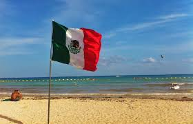 Purple Flag Beach How Playa Del Carmen Celebrates Mexican Independence Day