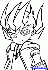 yugioh coloring pages coloring home