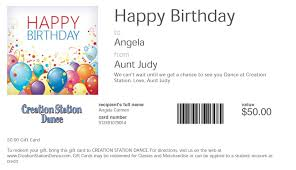 email gift certificates buy gift cards creation station