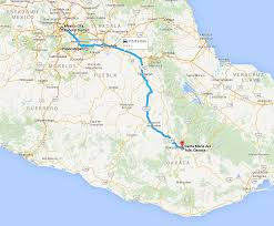 Oaxaca Mexico Map Oaxaca Part 1 Of 3 Sick In The Van Live Travel Play