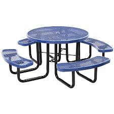 leisure craft picnic tables leisure craft inc 46 round tables