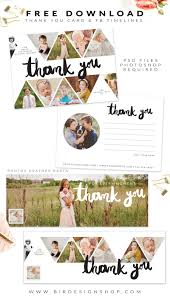 free thank you card and facebook timelines photoshop