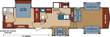 bunkhouse fifth wheel floor plans 100 grand junction 5th wheel floor plans voltage toy hauler