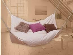furniture inspiring white hammock bedroom design with white