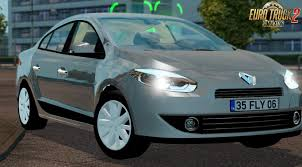 renault fluence renault fluence interior v1 0 1 28 x download ets 2 mods