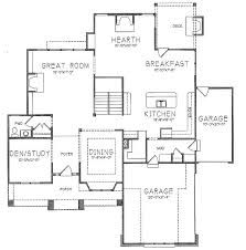 Floor Plans With 3 Car Garage Prairie Style Home With 3 Car Garage 16050pn Architectural