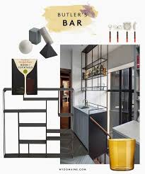 Wet Bar Makeover Micro Makeover Everything You Need For A Pretty Pantry Mydomaine
