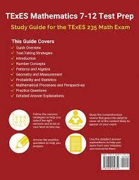 amazon com texes mathematics 7 12 test prep study guide for the