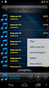 player for android mp3 player for android free