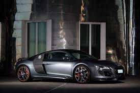audi r8 matte black anderson germany audi r8 v10 racing edition