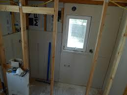 tiny house finish drywall photos bathroom and shower 02 tiny house finish drywall photos bathroom and shower 02