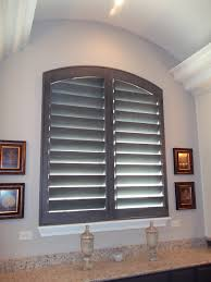 stunning custom gray stained shutters window fashions of texas