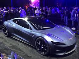 tesla roadster 2019 tesla upstages own electric truck launch with surprise appearance