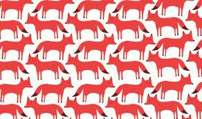 pattern illustration tumblr fox illustration tumblr image 1658764 by awesomeguy on favim com
