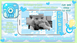 baby boy photo frame pic story android apps on play