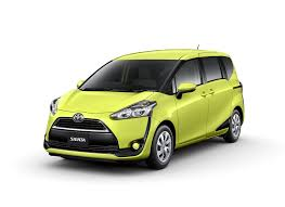 yellow toyota 2016 toyota sienta front quarter in air yellow unveiled in japan