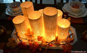 glass cylinder centerpiece u2013 guest post from the frugal homemaker