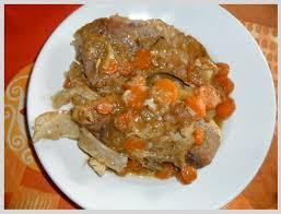 cuisiner une rouelle de porc rouelle de porc au four la au bout des doigts le