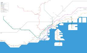 Osaka Train Map Urbanrail Net U003e Kobe Railway Map Subway Jr Local Railways