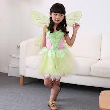 Flower Fairy Halloween Costume Aliexpress Buy Baby Kids Tinker Bell Costume Flower