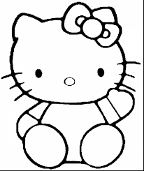 extraordinary hello kitty coloring pages for girls with printable