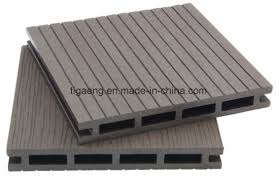artificial wood flooring china 25mm wpc outdoor artificial wood flooring co extrusion decking