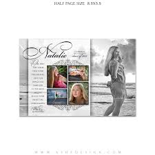 ashe design yearbook ad templates for photoshop simply classic