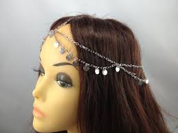 hair chains silver dangle hair chain hair jewelry spirit filled designs