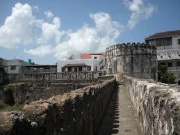 file the old castle in zanzibar jpg wikimedia commons