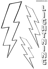 lightning coloring pages 28 images lightning weather coloring