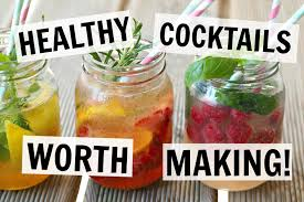healthy cocktails ad 4 easy recipes youtube