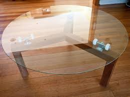lazy susan coffee table lazy susan skate table by chris wann handkrafted