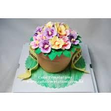 3d Flower Vase 3d Flower Vase Cake Flowers Romance Lovers