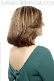 beveled bob haircut pictures lightly layered bob hairstyle back hair pinterest bobs long