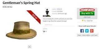 gentleman s gentleman s spring hat roblox wikia fandom powered by wikia