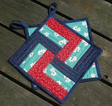 free patterns quilted potholders stitchnquilt take a block and make a potholder pinteres