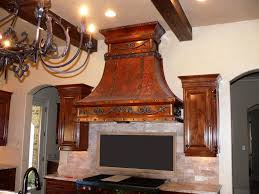 Cooktop Vent Hoods Range Hood 3 Old World Copper Range Hoods Copper Vent Hoods