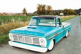 Old Ford Truck Crew Cab - a 1968 mercury pickup reminiscent of u002760s muscle rod network