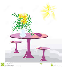 vase with the flowers on a table stock photos image 12830423