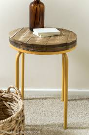 Diy Industrial Furniture by Diy Industrial Side Table And The Day He Finally Said No