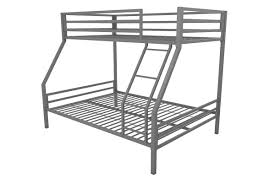 White Metal Bunk Bed Novogratz Maxwell Metal Bunk Bed Reviews Wayfair