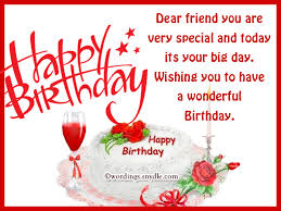 birthday greeting card messages for friends