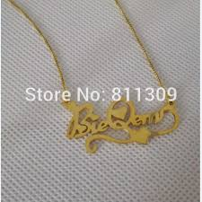 custom heart necklace custom heart design gold name necklace personalized name necklace