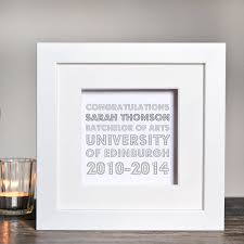 graduation frame personalised graduation box frame by twenty seven