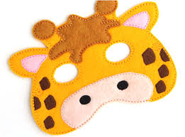 the mask halloween costume for kids kids giraffe mask giraffe costume felt mask kids face mask