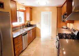 corridor kitchen design ideas how galley kitchen design lets you save space decorating room