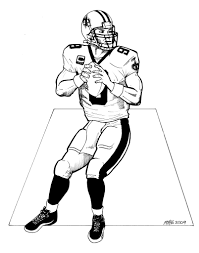 new orleans saints coloring pages saints football coloring pages
