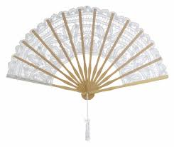 folding fans bulk 11 white folding lace fan for weddings on sale now